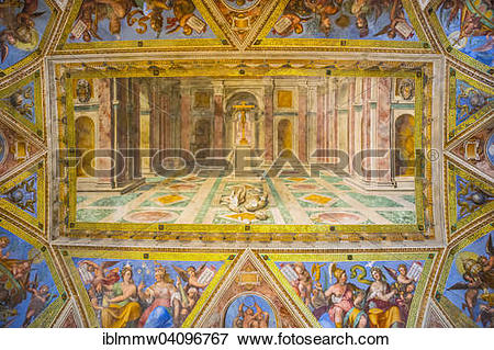 Picture of The triumph of Christianity over Paganism by Tommaso.