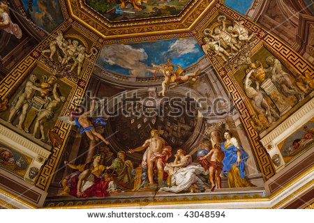 Ceiling Painting Stock Photos, Royalty.
