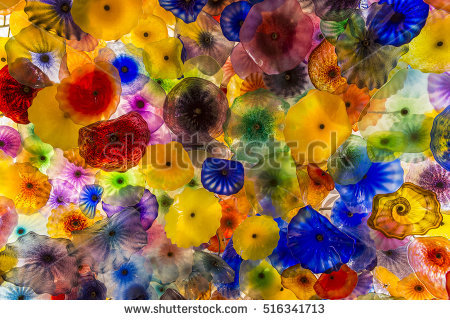 Dale Chihuly Stock Photos, Royalty.