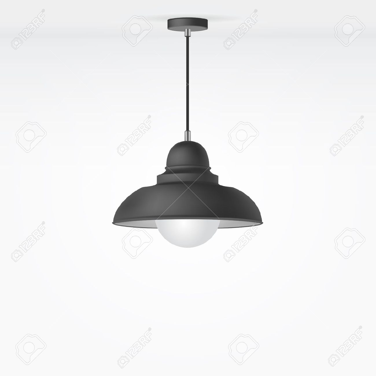 Vector Isolated Lamp Royalty Free Cliparts, Vectors, And Stock.