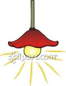 Ceiling light clip art.