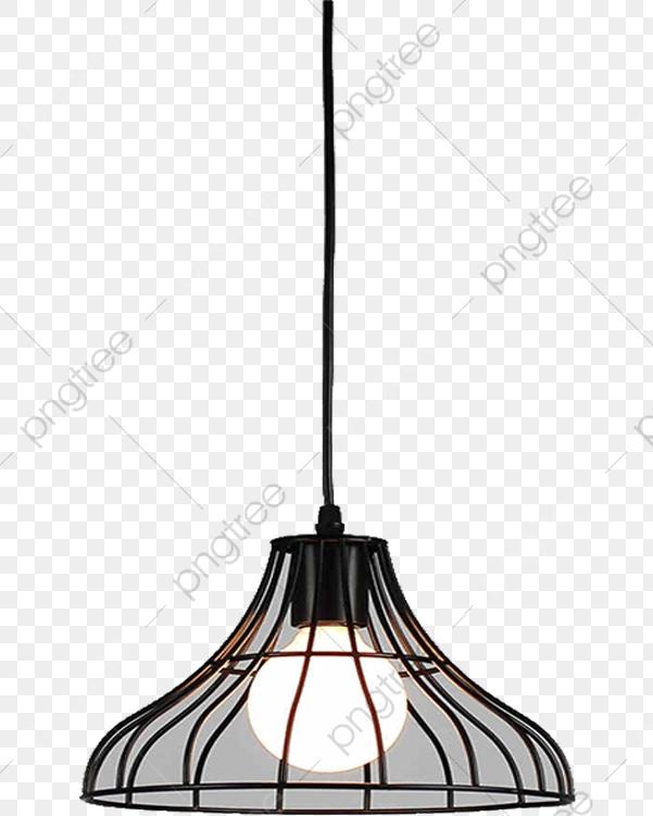 Simple Ceiling Lamp, Lamp Clipart, Simple Chandelier, A Chandelier.
