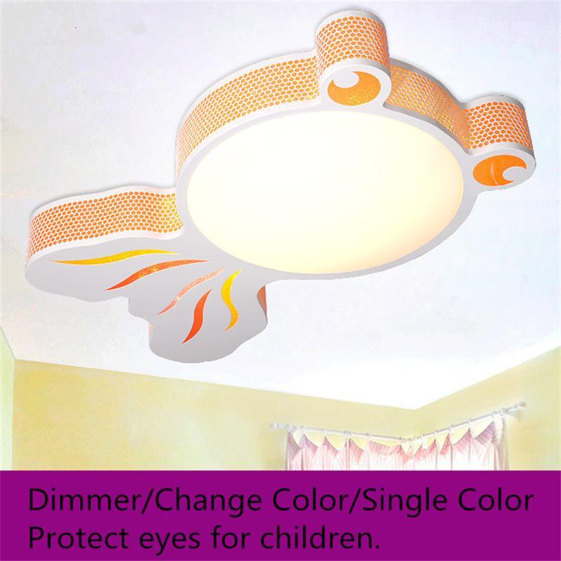LED Modern Ceiling Light Children Bedroom Plafonnier Novelty.