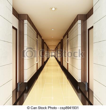Stock Photography of Walkway Interior Decorate.