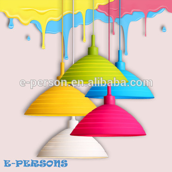 Silicone Chandelier Lamps Foldable Colorful Pendant Light With.