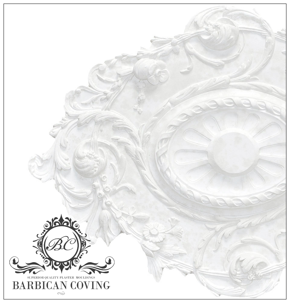 Merchant of Venice Plaster Ceiling Rose 825mm by 590mm.