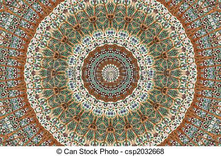 Pictures of Painted ceiling rose 2 csp2032668.