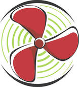 Fan propeller clipart.