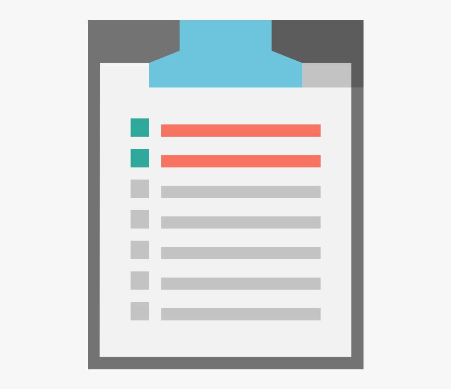 Checklist Clipart Png , Transparent Cartoon, Free Cliparts.