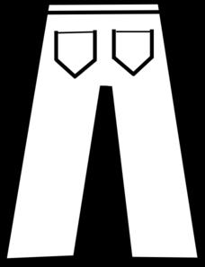 Clip Art Pants Clothing Clipart.