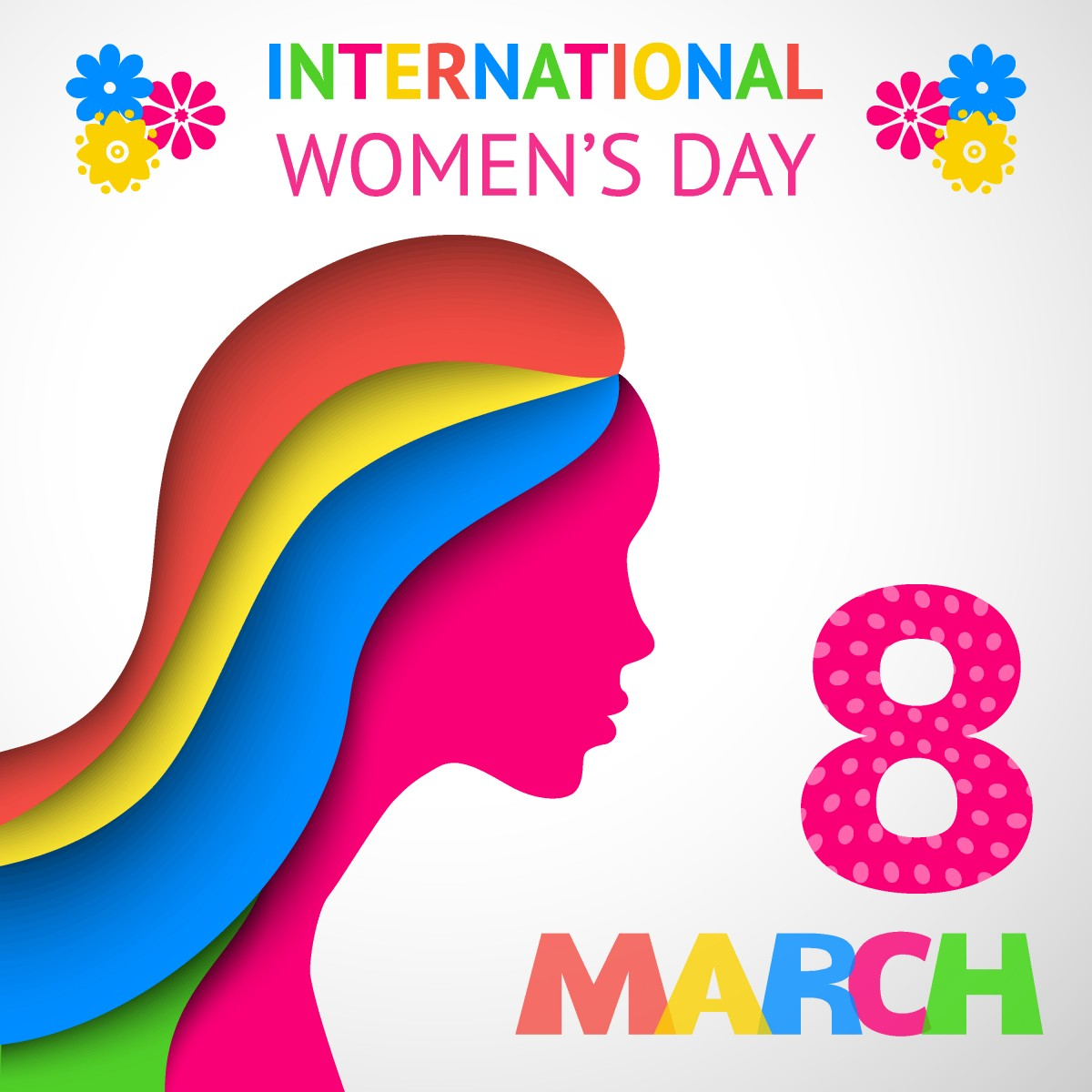 Celebrating International Women's Day.