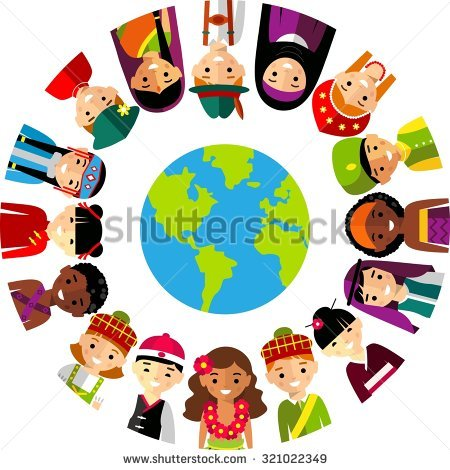 People Around The World Stock Images, Royalty.
