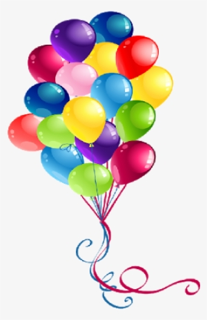 Party Balloons PNG, Transparent Party Balloons PNG Image.