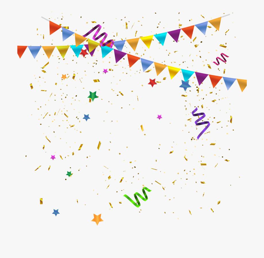 Celebrate Clipart Confetti.