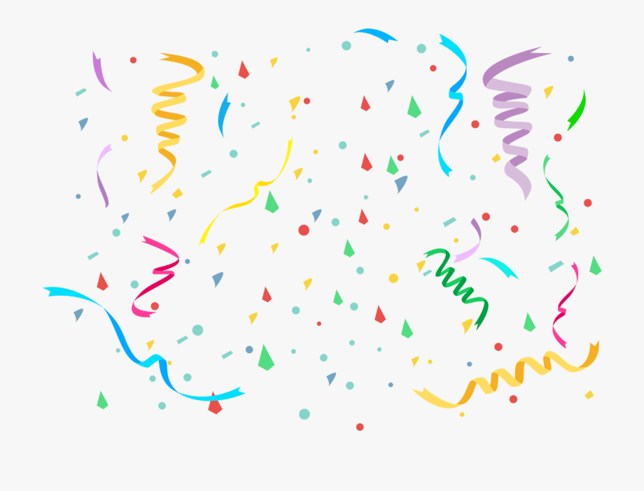 Party Clipart Confetti.