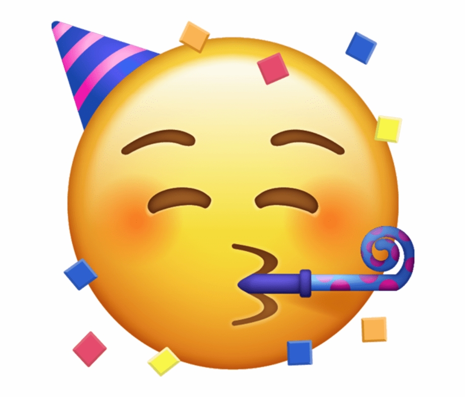 Iphone Party Emoji.