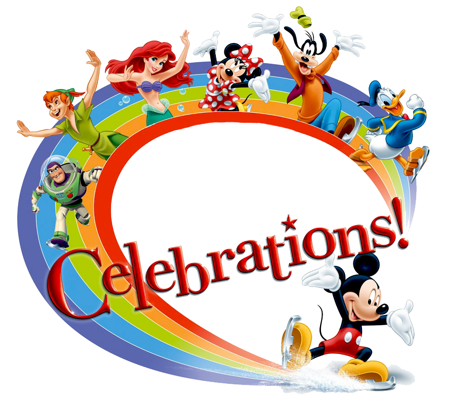 Disney celebrate clipart.