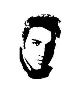 Silhouette Celebrity Portrait.