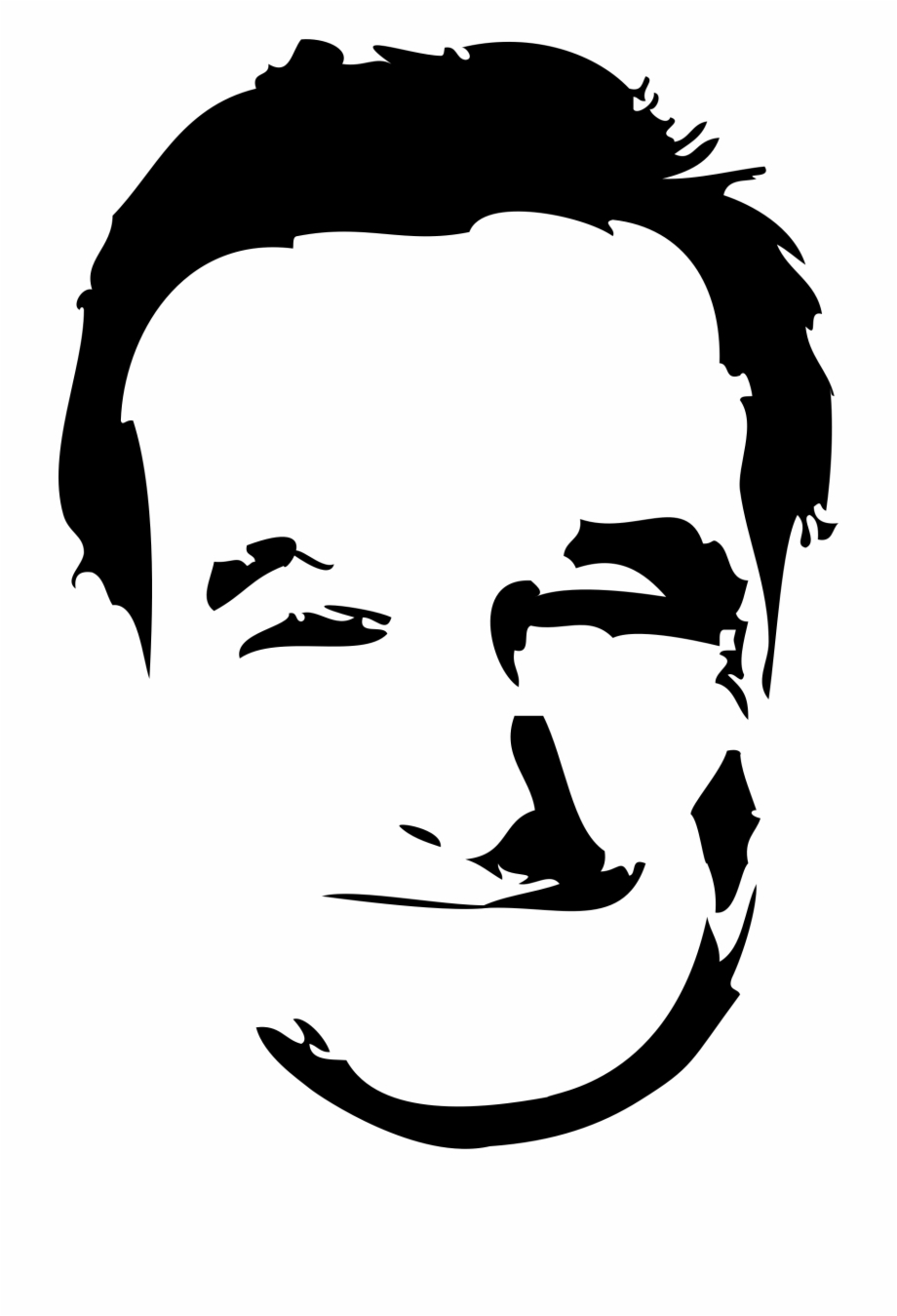Vector Download Silhouette Of Face At Getdrawings.