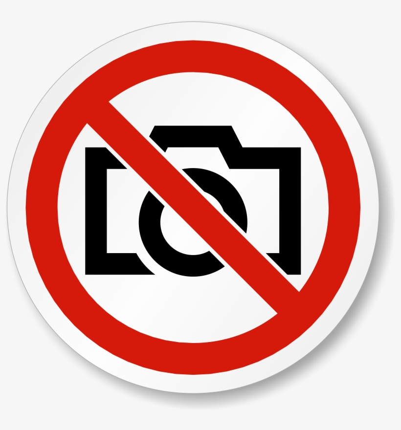 Download Free png Free Download No Cell Phone Camera Sign Clipart.