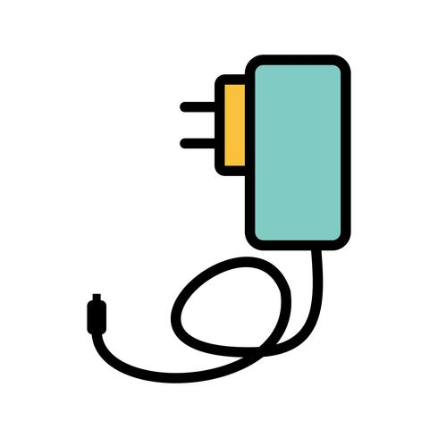 Mobile Charger Vector Icon.