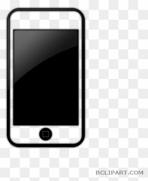 Cell phone clipart black and white 4 » Clipart Portal.