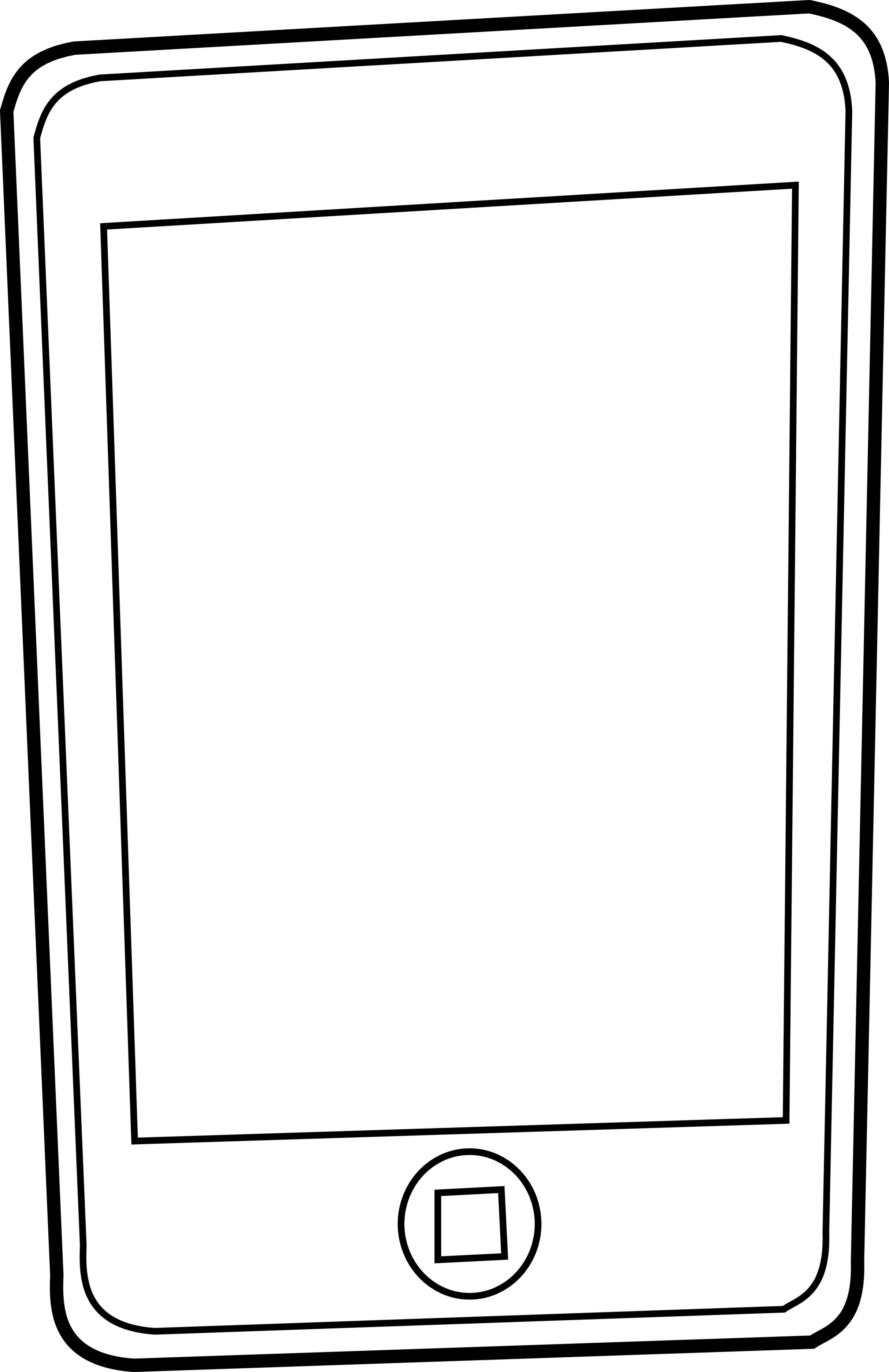 Cell phone clipart black and white collection.