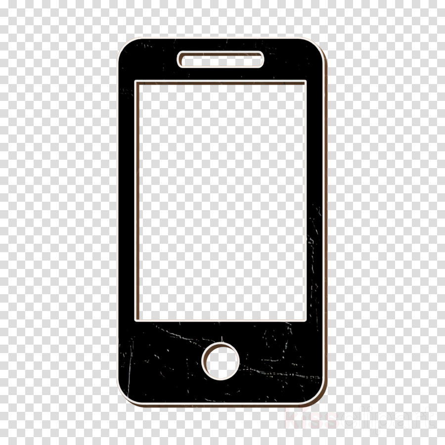 technology icon Phone icon Cell phone icon clipart.