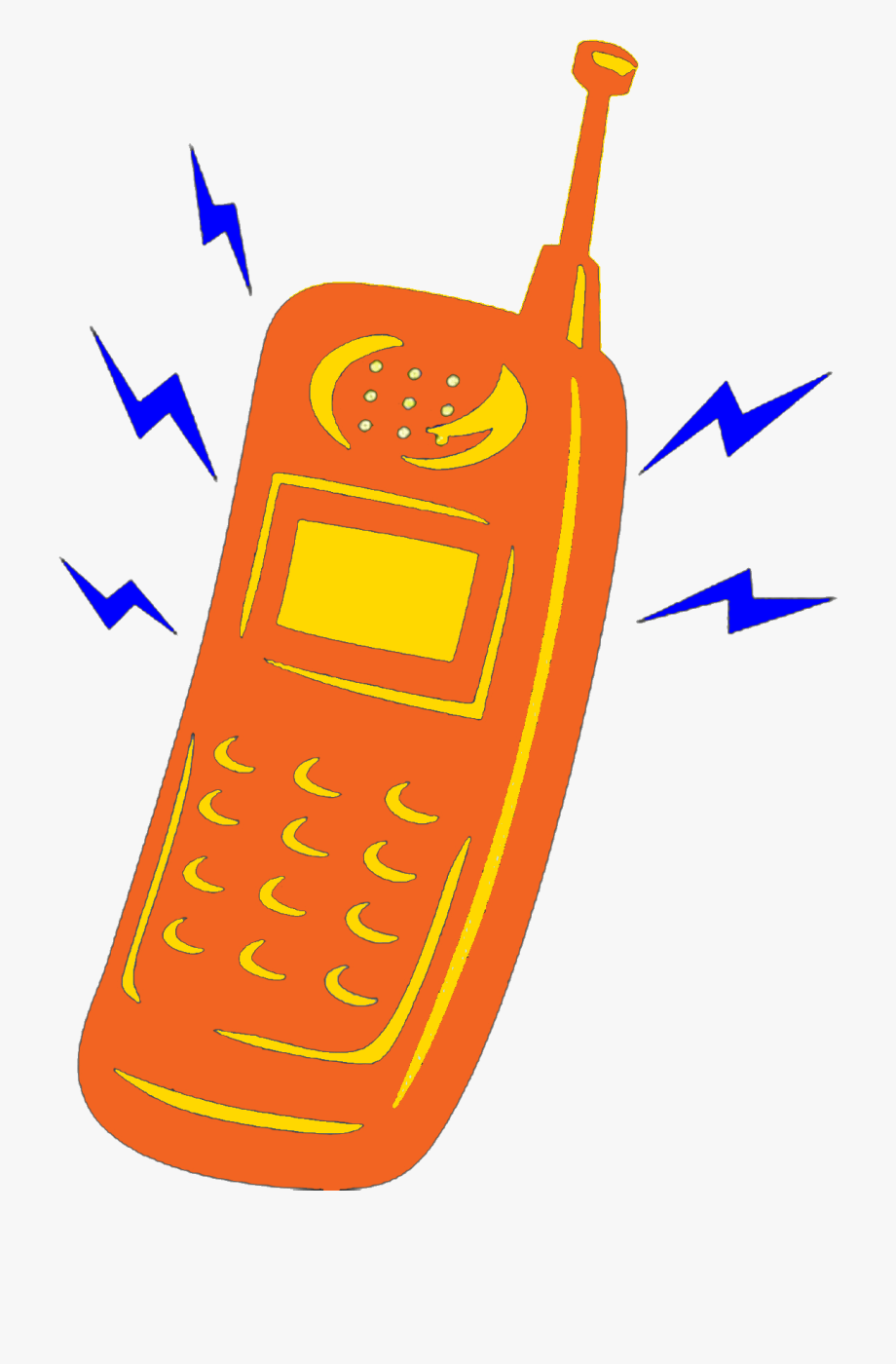 Cell Phone Ringing Clipart , Transparent Cartoon, Free.