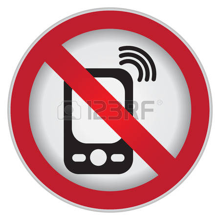227 Cell Phones Not Allowed Cliparts, Stock Vector And Royalty.