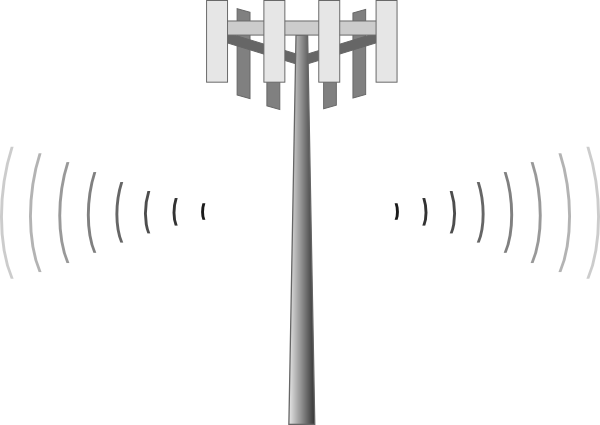Cell Phone Tower Clipart.