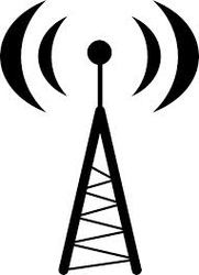 Cell Phone Tower Symbol Clipart.