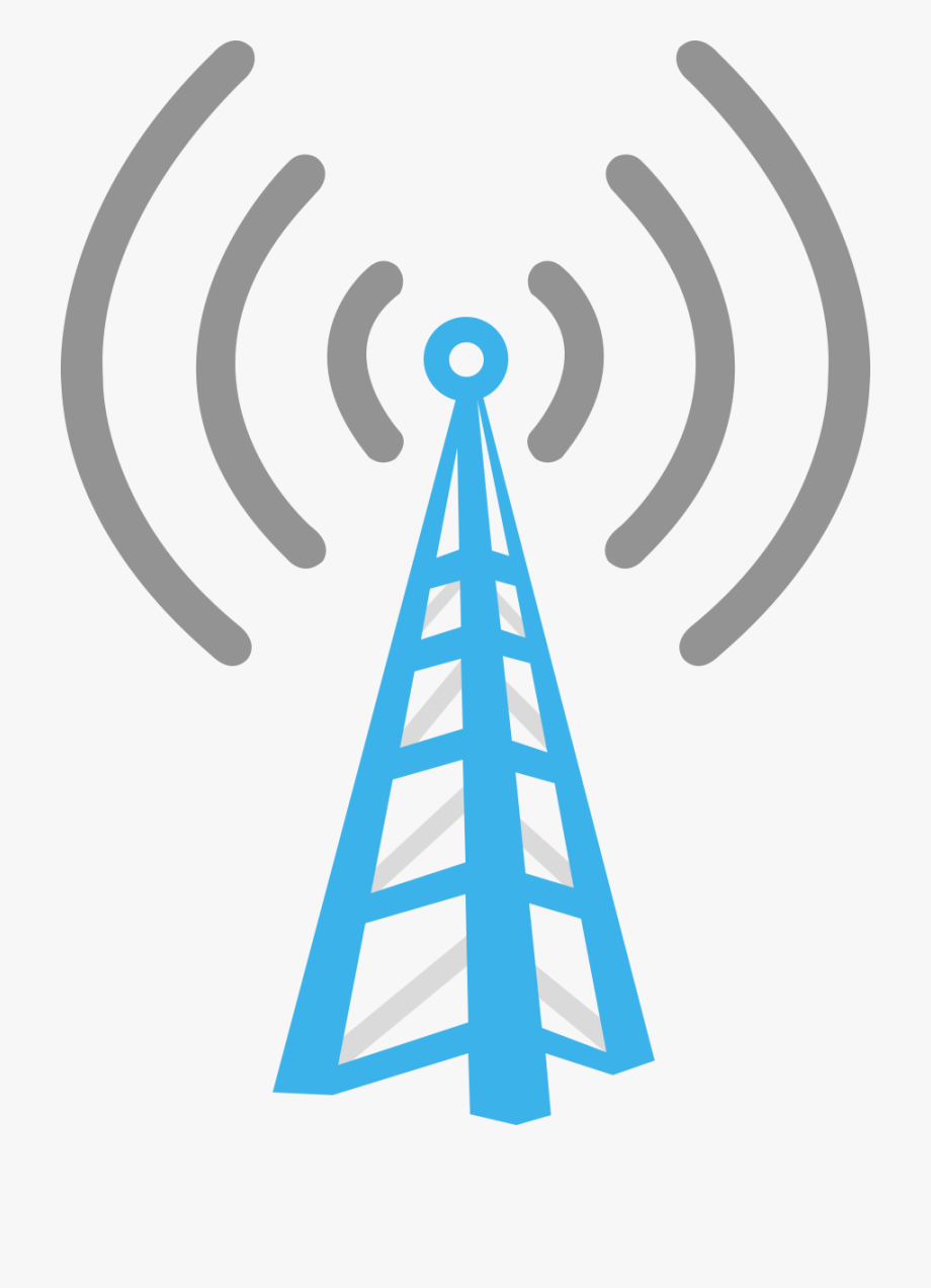 Cell Phone Tower Clipart , Transparent Cartoon, Free.