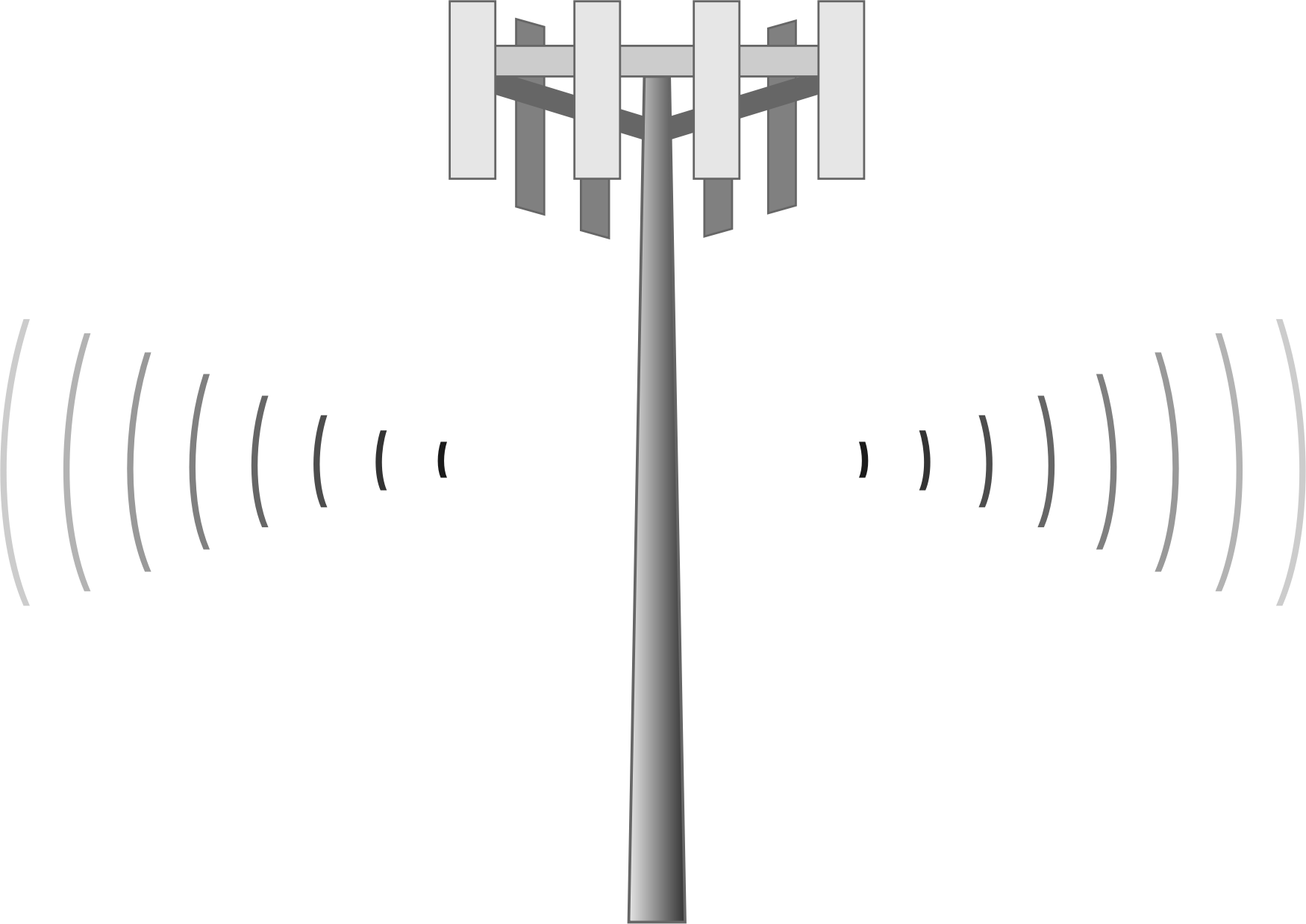 mobile phone mast clipart