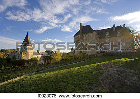 Stock Images of France, Touraine, La Celle.