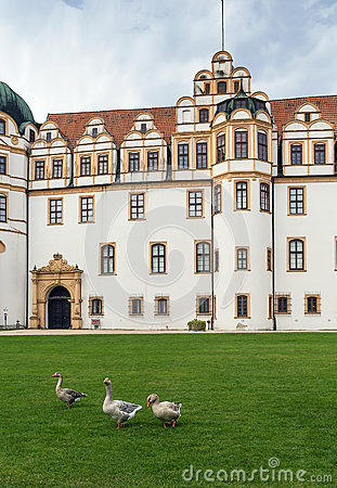 Celle Castle, Germany Stock Photography.