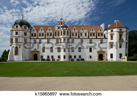 Picture of Castle in Celle, Germany k15865897.