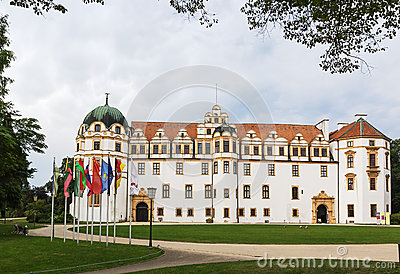 Celle Castle, Germany Royalty Free Stock Photo.