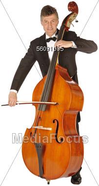 Stock Photo Cellist Clipart.