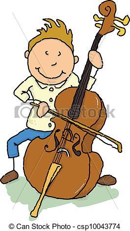 Free clipart cello.