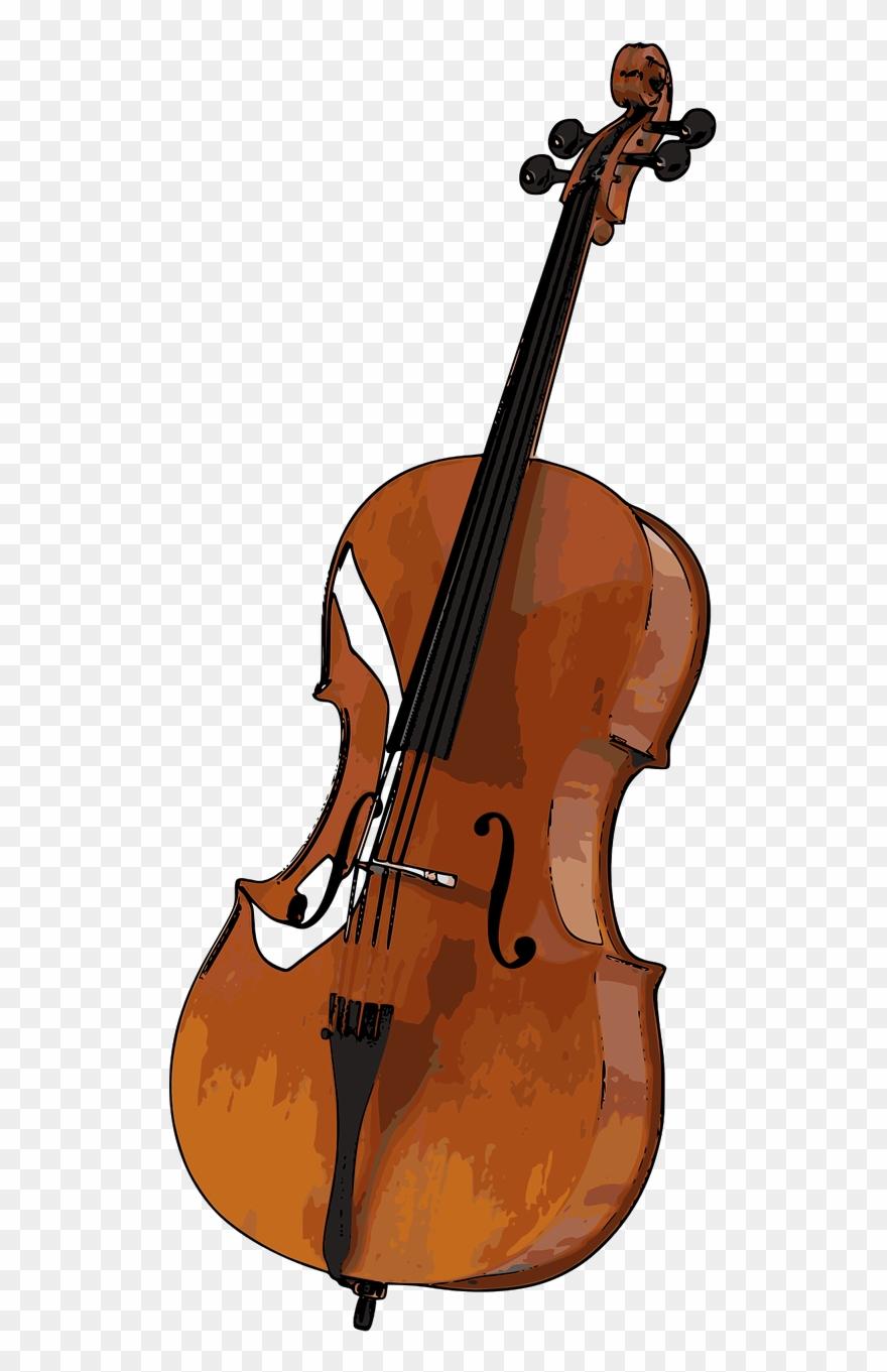 Cello Clip Art Instrument Png Transparent Png (#2563323).