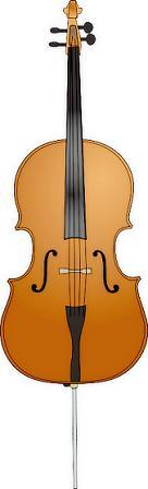 Free Cello Clipart.