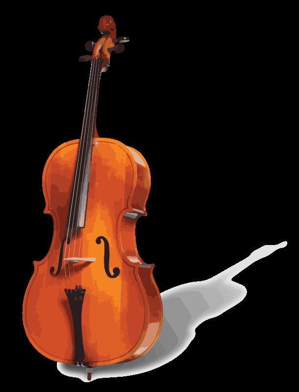 Free Clipart: Cello.