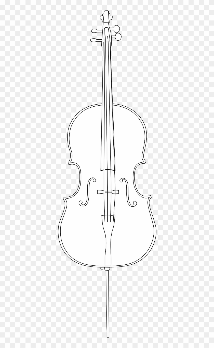 Cello Instrument String Music Png Image.