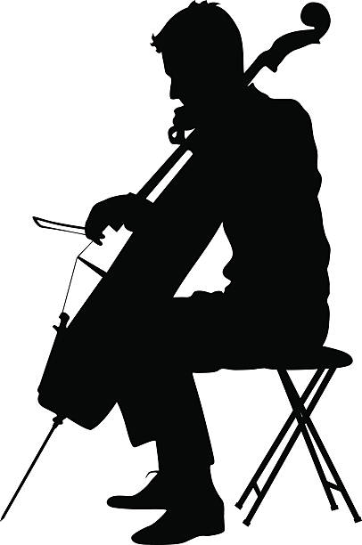 Best Cellist Illustrations, Royalty.
