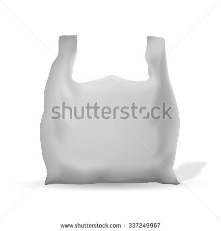 Cellophane Bag/Cellophane Bag/Plastic Bag Stock Vector.