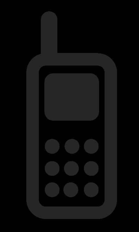 Cellphone clipart mobile logo, Cellphone mobile logo.