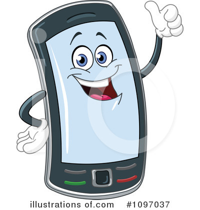 Cell Phone Off Clipart.