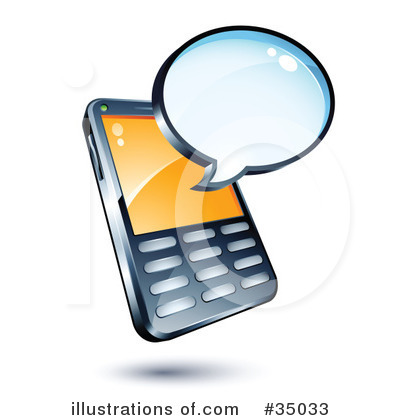 Cell Phone Clipart #35033.