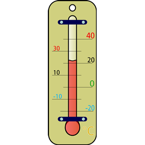 Fahrenheit Thermometer Clipart.